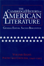 The Cambridge History of American Literature, Vol. 8: Poetry and Criticism